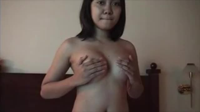 18 year old Filipina girl on webcam shows her big tits
